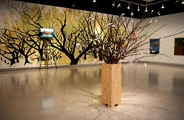 Orchard Diaries installation